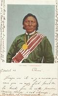 """Chef Indien Chief  Ute """" Tarboocheket """"  Colorisée - Indiens De L'Amerique Du Nord"""