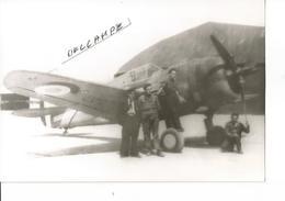 PHOTO AVION CURTISS H75 ARMéE DE L AIR    12X8CM - 1939-1945: 2ème Guerre