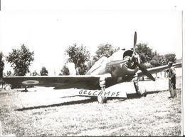 PHOTO AVION CURTISS H75 P36 CHASSEUR  ARCHIVE CUICH  12X8CM - 1939-1945: 2ème Guerre