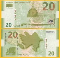 Azerbaijan 20 Manat P-28 2005 UNC Banknote - Azerbaïjan