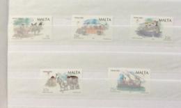 Malta 2002 Christmas Set MNH - Malte