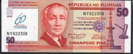 PHILIPPINES P201 50 PISO 2009 60th Year Bank COMMEMORATIVE UNC. - Philippines