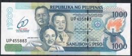 PHILIPPINES P205 1000 PISO 2009 60th Year Bank COMMEMORATIVE UNC. - Philippines