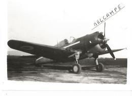 PHOTO AVION CURTISS H75  DU GC 1/5 PETITS POUCET  A MEKNES EN 1941  12X8CM - 1939-1945: 2ème Guerre