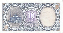Egipto - Egypt 10 Piastres 1999 Pk 189 B.2 Firma M. S. Hassanan Ref 649-2 - Egipto