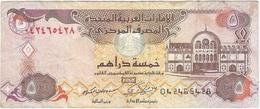 Emiratos Árabes Unidos - United Atab Emirates 5 Dirhams 2009 Pk 26 A Ref 3044-2 - Egipto