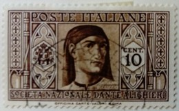 Italie Italy Italia 1932 Personnage Célèbre Celebrity Celebrita Yvert 283 O Used Usato - 1900-44 Victor Emmanuel III.