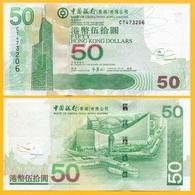 Hong Kong 50 Dollars P-336f 2009 Bank Of China UNC - Hong Kong