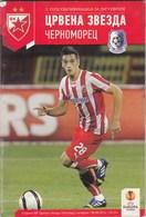 Programme FC Red Star Crvena Zvezda Belgrade Serbia  FC Chornomorets Cernomorec Odessa Ukraine  2013. Fc Football UEFA - Tickets D'entrée