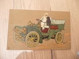 CPA Illustrateur T.Bianco Auto Ancienne Femme Chien - Illustrateurs & Photographes