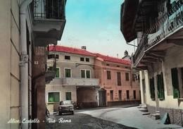 ALICE CASTELLO (VERCELLI) -F/G ACQUARELLATA - PANORAMA (80319) - Italia