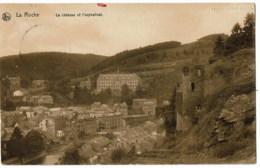 La Roche  Le Chateau Et L'orphelinat    Feldpost - La-Roche-en-Ardenne