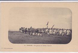 Cpa-afr-ethiopie-harrar- Groupe De Soldats Abyssins-edi Mody N°18 - Ethiopie