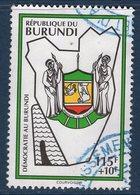 Burundi, Timbre Oblitéré, Démocratie Au Burundi - Burundi