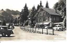 "BERNE BRUNIG PASSHÖHE - CHALET SILVANA  """"RARE"""" - VIEILLES VOITURES OLD CAR -Photoglob Wehrli AG Zürich No 07125 - BE Berne"