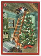 Postal Stationery RED CROSS  Finland SPR 2001 - CHRISTMAS POSTCARD - Artist: INGE LÖÖK - GNOME / LUTIN - Postage Paid - Finland