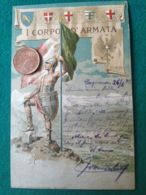 ITALIA 1° Corpo D'armata - Guerra 1914-18