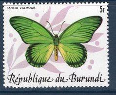 Burundi, Timbre Neuf, Papillon, Papilio Zalmoxis - Burundi