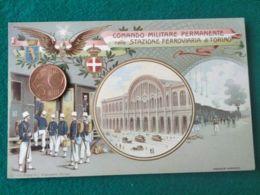 ITALIA Comando Militare Permanente Stazione Ferroviaria Torino - Guerra 1914-18