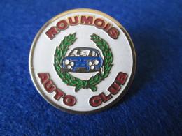 PIN'S   ALPINE RENAULT  A 110 ROUMOIS AUTO CLUB - Rallye