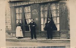 I85 - COMMERCE - Carte Photo - Hôtel Morellon - Au Rendez-Vous.... - Magasins