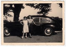 AUTO CAR VOITURE NON IDENTIFICATA - FOTO ORIGINALE - Coches
