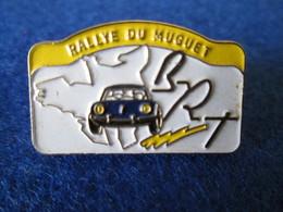 PIN'S   ALPINE RENAULT  A 110  BRT  RALLYE DU MUGUET - Rallye