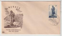 MONACO - FDC - 1951 - FDC
