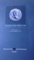 MUNZEN  UND  MEDAILLEN AUKTION 10 - MUNCHEN  1993 - Deutsch