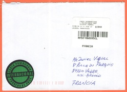 CILE - CHILE - 2016 - $1940 Carta Internacional Prioritaria Certificada (Aereo) - Viaggiata Da Ñuñoa, Santiago Per Vabre - Cile