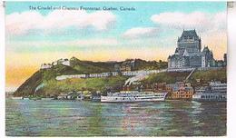 THE  CITADEL  AND  CHATEAU FRONTENAC QUEBEC  CANADA   TBE  US252 - Québec - La Citadelle