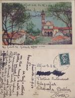 Limonta (LC). Viaggiata 1943 - Italy