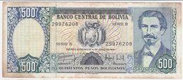 Bolivia P 166 - 500 Bolivianos 1.6.1981 - Fine+ - Bolivia