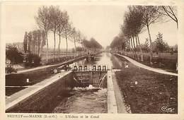 -dpts Div.-ref-AH143- Seine Saint Denis - Neuilly Sur Marne - Ecluse Et Canal - Ecuses - Canaux - - Neuilly Sur Marne