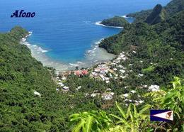 American Samoa Afono Aerial View New Postcard Amerikanisch-Samoa AK - Samoa Américaine