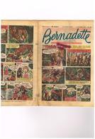 Bernadette N°376 - Tombée Du Ciel Kallidia Bernadette Lourdes - Geneviève Bergère Paris Peter Pan Miette Totoche... - Livres, BD, Revues