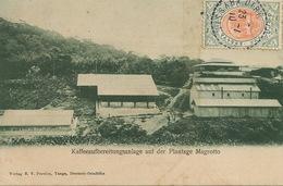 Deutsch Ost Afrika Tanga Coffee Plantation Magrotto P. Used Dire Daoua Ethiopia To Paris - Tanzanie