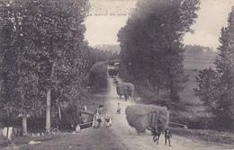 Cpa -agri-camp-travaux Champetres-animée-convoi D'attelage De Ramassage De Foins-la Rentree- - Cultures