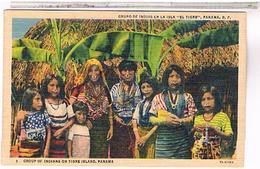 PANAMA INDIANS ON TIGRE ISLAND US122 - Panama