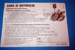RANA DI ARCHIMEDE DISNEY - Notices