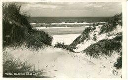 007226  Texel - Doorkijk Naar Zee - Sonstige
