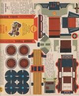 CARTON PREDECOUPE SHELL BERRE COLLECTION BOLIDES D'AUTREFOIS N° 26 - GOBRON BRILLIE 1899 - Publicité