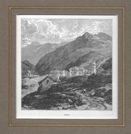 1887 AIROLO → Holzstich  115 X 115 Mm - Stiche & Gravuren