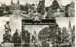 007229  Groeten Uit Amsterdam  Mehrbildkarte - Amsterdam