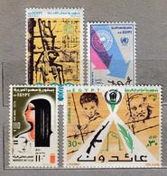 EGYPT 1975 MNH(**) Mi 676-679 #23872 - Unused Stamps