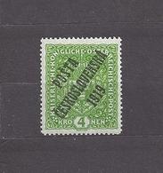 Czechoslovakia 1919 MNH ** Mi 57 I Sc B20 Austrian Stamps Of 1916-18 Overprinted In POSTA CESKOSLOVENSKA Expertised - Tchécoslovaquie