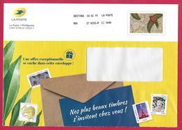 "France (2019) Entier Postal De Service Prêt-à-poster ""Tissu Africain"", ""African Fabric"". Service Postal Stationery. - Entiers Postaux"