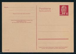 DDR Ganzsachenpostkarte MiNr. P 64 B II (geschlossenes A), Druckvermerk III/18/185 Ungebraucht - Postales - Nuevos