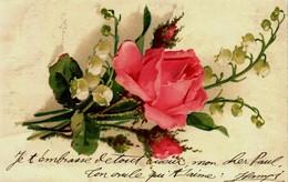 12732 - Illustrateur  - Catharina KLEIN    Fleurs  :  Rose Et Muguet    Circulée - Klein, Catharina