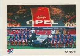 C.P. - OPEL - PARTENAIRE OFFICIEL DU PARIS SAINT GERMAIN - FOOTBALL - CAMLY - - Football